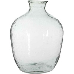 Casa Vivante baloe glazen fles transparant maat in cm: 50 x 35
