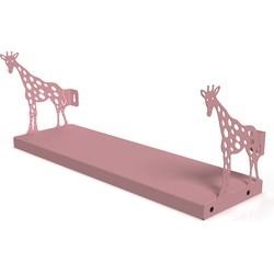 Gorillz Kids Giraffe - Boekenplank kinderkamer - Roze