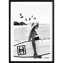 Chanel Surfboard Poster (50x70cm)