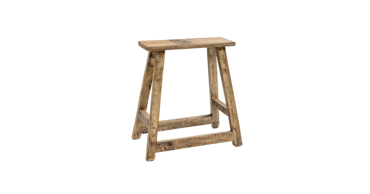 Original Home Chinese Rectangle Chair - Natural