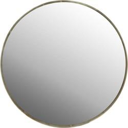 Casa Vivante spiegel Grazia goud 23 cm doorsnede