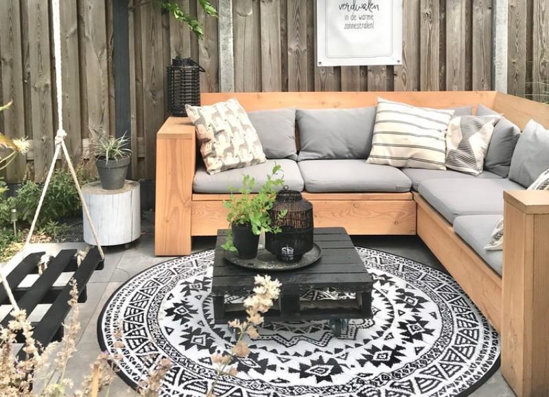 Een tuinset uitzoeken: welk materiaal kies je?