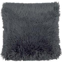 Dutch Decor Kussenhoes Fluffy 45x45 cm Charcoal Gray