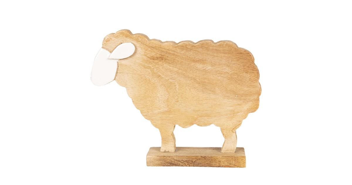 Clayre & Eef Decoratie schaap 18*5*14 cm 6H1770S