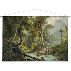 Zuid-Amerikaans oerwoud - 180 x 120 cm