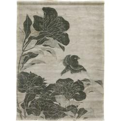 HKliving Wandkleed Floral Linnen 133 x 92 x 1