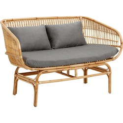 bank rotan naturel 81 x 138 x 68