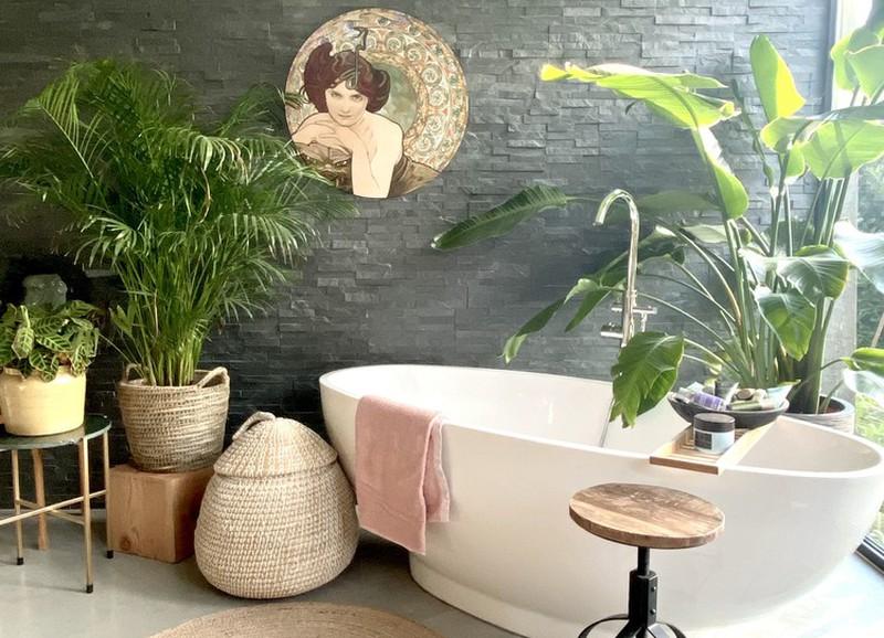Shop the look: een badkamer met een landelijke touch