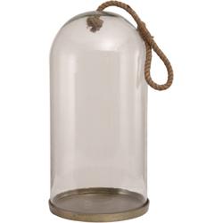 Stolp Ace, glas en aluminium, met touw hoog