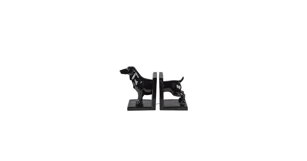Clayre & Eef Boekensteun (2) hond 25*9*15 cm 6PR4623