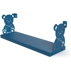 Gorillz Kids Panda- Boekenplank Kinderkamer - Blauw