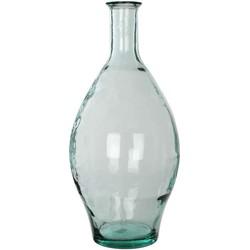 Mica Decorations vaas kyara glas maat in cm: 60 x 28 transparant