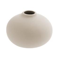 Storefactory beige vaasje (Ø 9 centimeter x 6 centimeter)