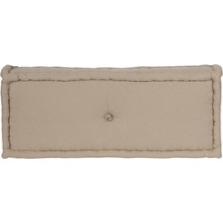 Lounge matrassen naturel S-M-L-XL - 80x30x15 cm