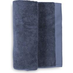 Baddoek Premium 60x110 cm jeans blue - Set van 2