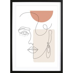 Abstract Face Vol.2 Poster (21x29,7cm)