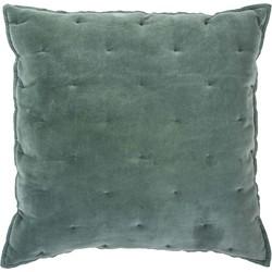 Sierkussen Velvet Touch 50x50 cm jade