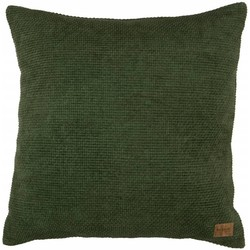 Be Pure Home Be Pure Home Craddle Kussen Chenille Groen 45x45cm