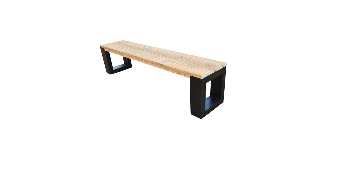 Wood4you - Bankje New Orleans - steigerhout 160Lx40Hx38D cm