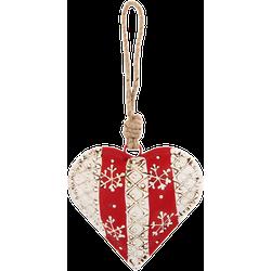 Clayre & Eef Hanger hart 9x3x9 cm