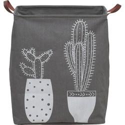 Sealskin Cactus Wasmand Grijs