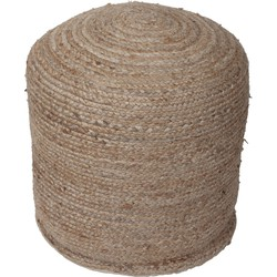 New routz - Poef Dundee Jute