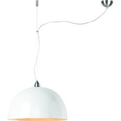 Hanglamp bamboe Halong enkel, wit