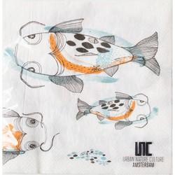 Urban Nature Culture Napkin, fish koi