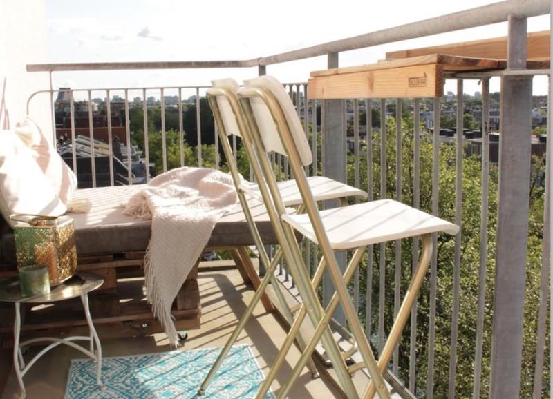 De leukste en handigste items voor op een balkon