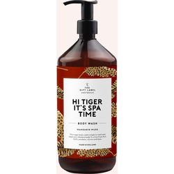 The Gift Label | Body wash| Hi tiger it's spa time