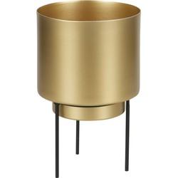 Guus Plantenpot Metaal Antique Brass Ø11,5cm