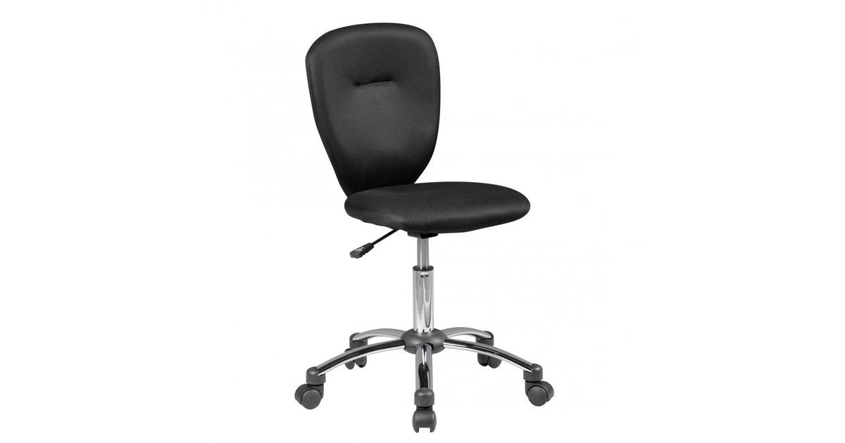 Nancy's Topeka Bureaustoel voor Kinderen - Draaistoel - Bureaustoel - Kinderstoel - Verstelbaar - Zwart/Groen/Blauw - Zwart