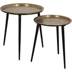 Pole to Pole - Coffee table set Goldy