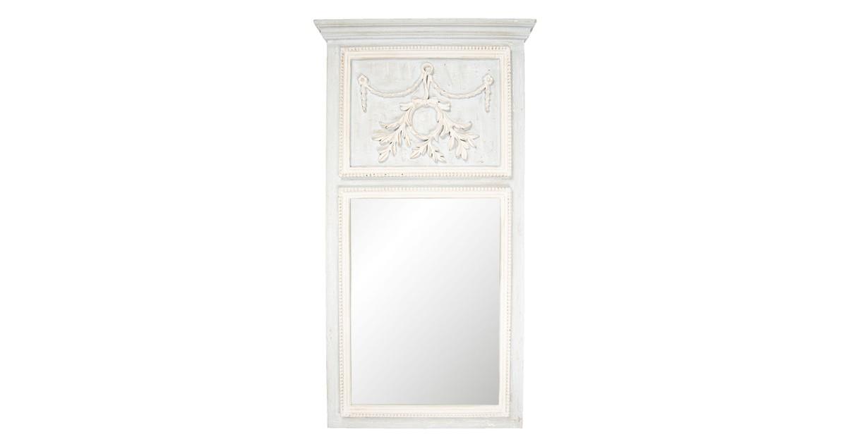 Spiegel | 65*120*5 cm | Grijs | Hout | Clayre & Eef | 52S145
