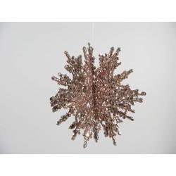 Snowflake Pink 11cm