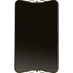 Double Spiegel Antique Brass