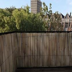 Balkonafscheiding riet (100x150cm Enkelzijdig)