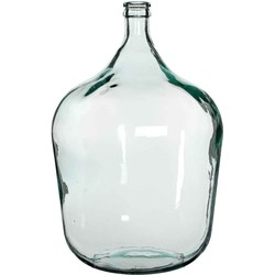 Mica Decorations fles diego glas maat in cm: 56x40 transparant - TRANSPARANT