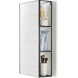 Umbra Cubiko Wandkast/Spiegel 30,5 x 60,9 cm - Zwart