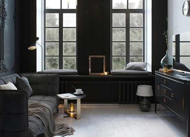 De 15 mooiste (bijna) all black interieurs