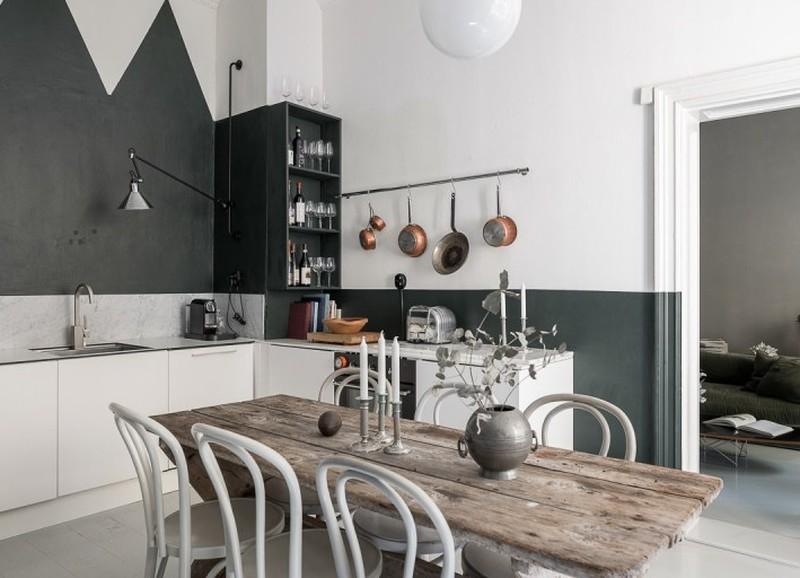 Binnenkijken: klein appartement met een mix van landelijk, vintage en chic