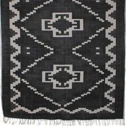 Mica Decorations wiki vloerkleed zwart maat in cm: 120 x 180