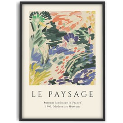 Henri Matisse Inspired Flowers  - Exhibition art - Poster - PSTR studio
