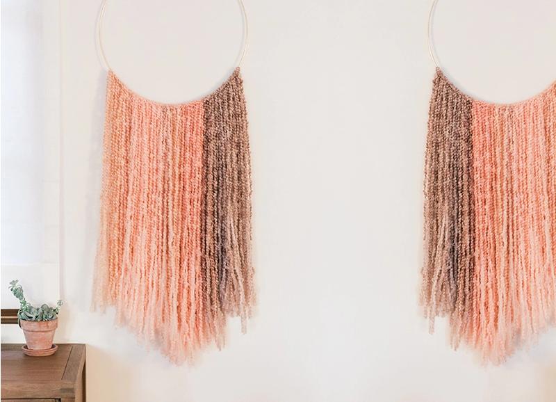 DIY: Deze bohemien wanddecoratie is zó leuk (en makkelijk!)