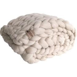 Plaid linnen (biologische wol) - Maat S - Blokken