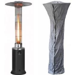 Terrasverwarmer Gas Flameheater 9000 hoes