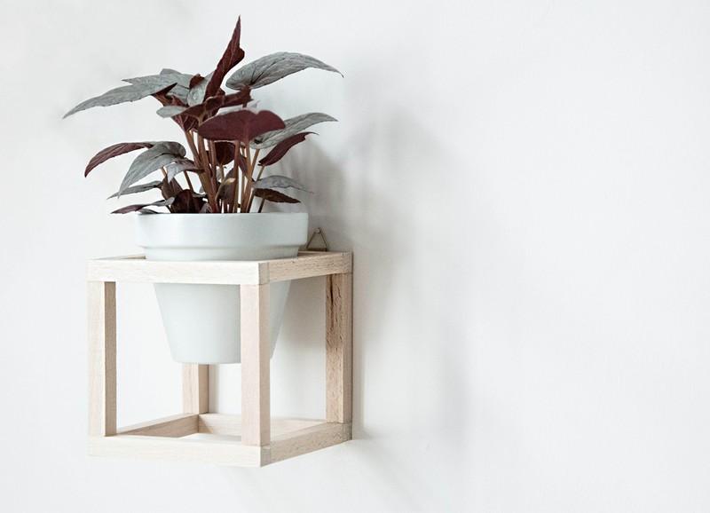 DIY: Plantenbakje voor aan de muur