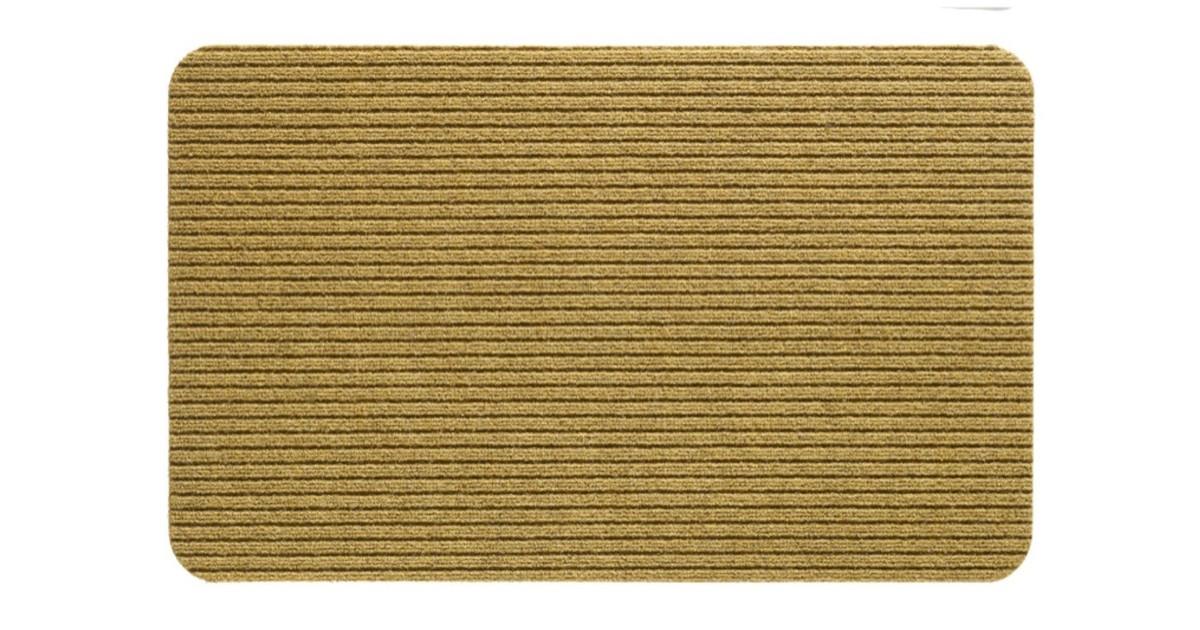 Ribmat fortuna 50 x 80 cm zand