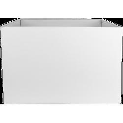 Vierkante lampenkap voor Tafellamp Nature - wit - linnen