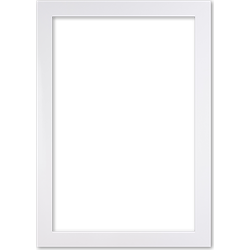 Moderne Lijst 70x90 cm Wit - Anna